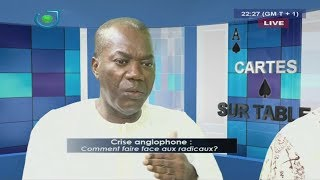 CRISE ANGLOPHONE - (Maître Célestin KENGOUM REFORMULE L'HYMNE du CAMEROUN) - Mardi 15 Août 2017.