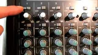 Stage Left Audio - Introduction to a mixer
