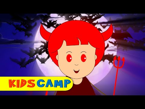 The Haunted House | Halloween Songs for Children and Popular Nursery Rhymes Collection by KidsCamp