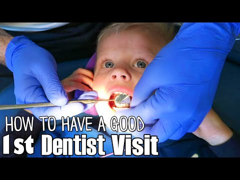 Michael's First Dentist Visit