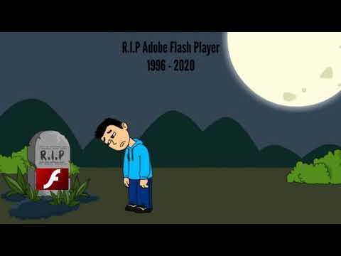 R.I.P Adobe Flash Player (1996 - 2020)