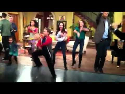 """See Dad Run"" Backstage Dance"