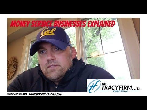 Adam Tracy Explains Money Service Business Registration