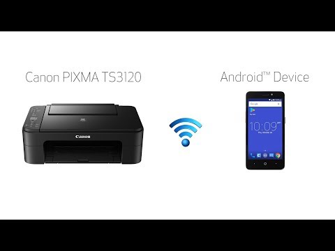 Setting Up Your Wireless Canon PIXMA TS3120- Easy Wireless Connect With An Android Device