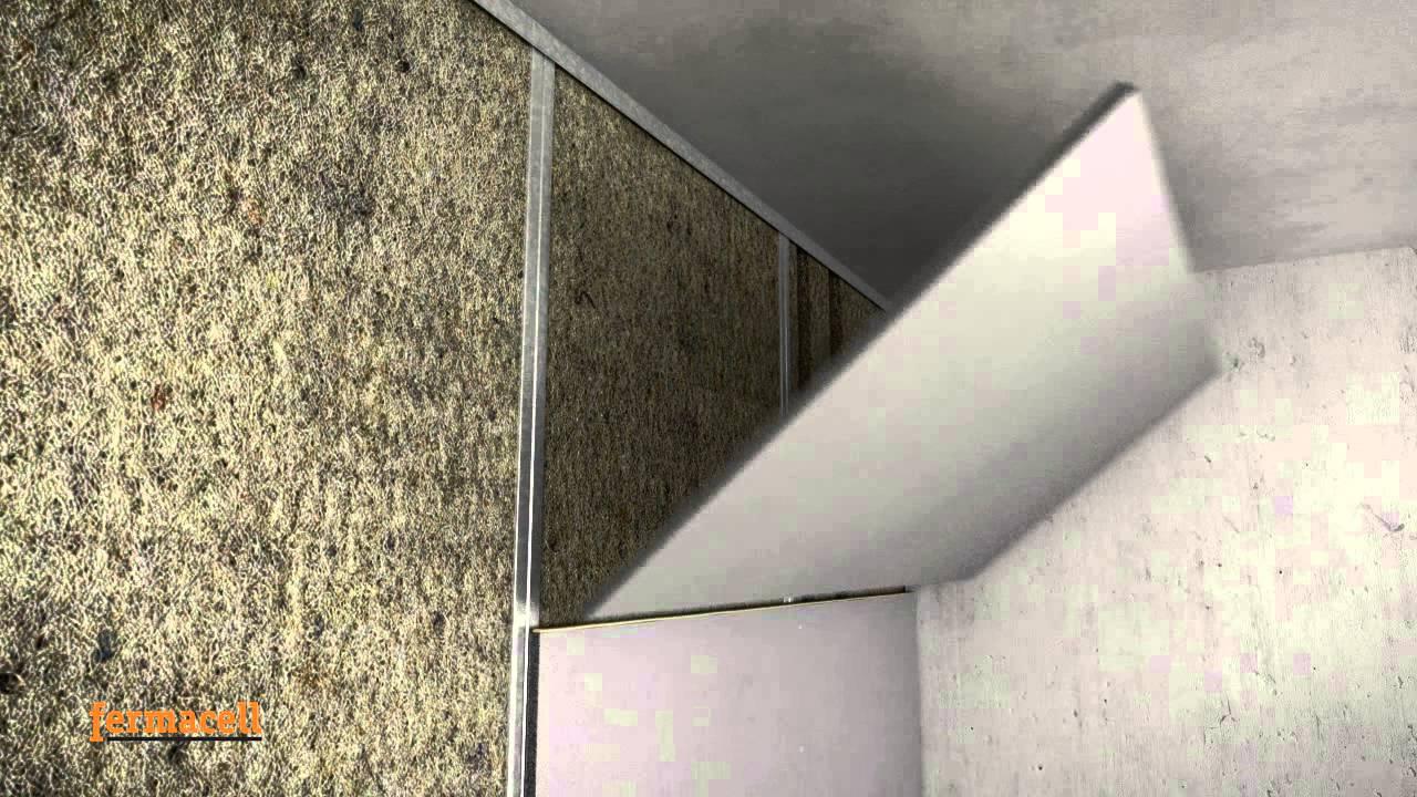 Einsatz Von Fermacell Powerpanel H2o In Innenraumen Youtube