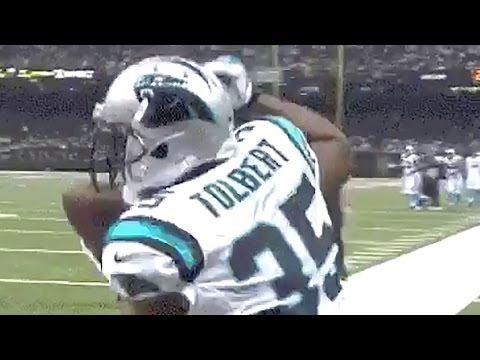 Mike Tolbert Hits 'The Carlton' Dance After Touchdown