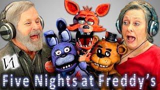Реакция стариков на игру Five Nights at Freddy s Иностранцы пенсионеры в ФНАФ ИндивИдуалист