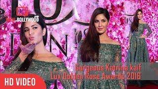 Gorgeous Katrina Kaif At Lux Golden Rose Awards 2016 | Viralbollywood