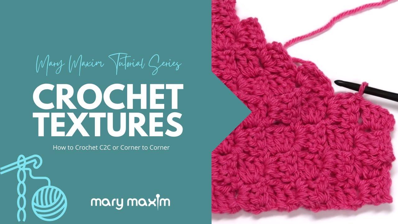How To Crochet C2c Or Corner To Corner Part 2 Decreasing
