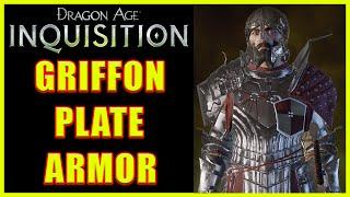 Dragon Age: Inquisition - Griffon Plate Armor - Unique Griffon Armor