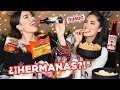 Childhood Snacks Mukbang with Karen iluvSarahii | Melissa Alatorre