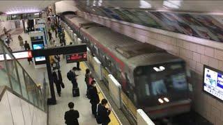 大阪メトロ梅田駅 ホームドア運用開始 御堂筋線
