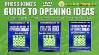 Chess King's Guide to Opening Ideas 3 DVD Set Description