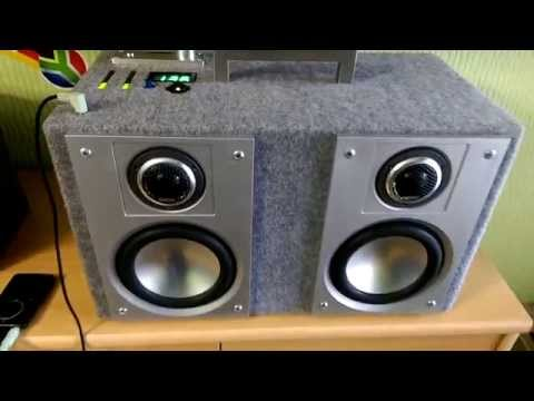 selfmade bluetooth speaker hardstyle excursion test youtube. Black Bedroom Furniture Sets. Home Design Ideas