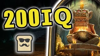 DISGUISED TOAST BREAKS THE DUNGEON RUN! | KOBOLDS AND CATACOMBS | TRAPPED ROOM | HEARTHSTONE