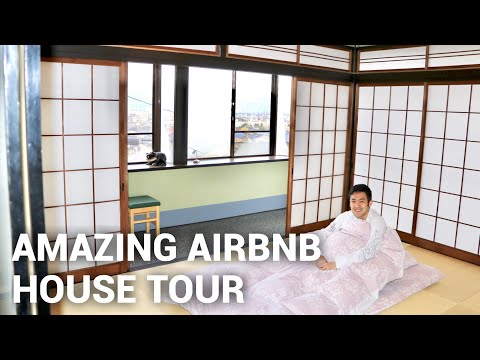 Airbnb Japan House Tour! *AMAZING*