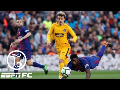 Did Luis Suarez just reveal that Barcelona is signing Antoine Griezmann from Atletico?   ESPN FC