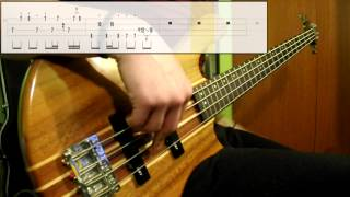 Daft Punk - Around The World (Bass Cover) (Play Along Tabs In Video)