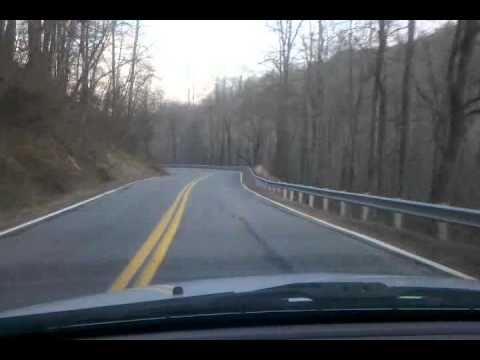 Down Saluda Mountain ... North Carolina