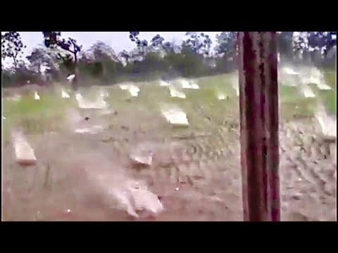 Trực Tiếp Trận Mưa Đá Như Dội Bom Tại Cao Bằng Ngày 23/4/2020