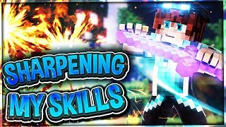Sharpening My Skills Plus Fanart!   Chill Minecraft Hypixel Skywars PvP   #84