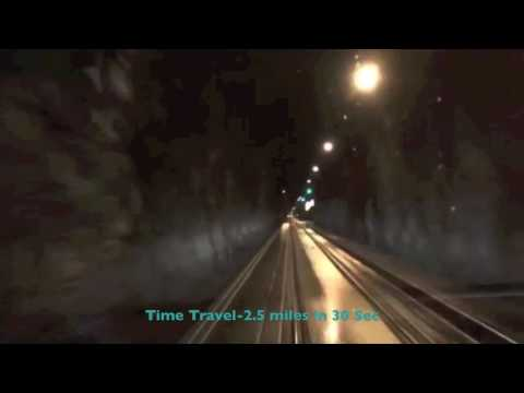Travel Guide Time Travel 30 Sec in the  Whittier Tunnel