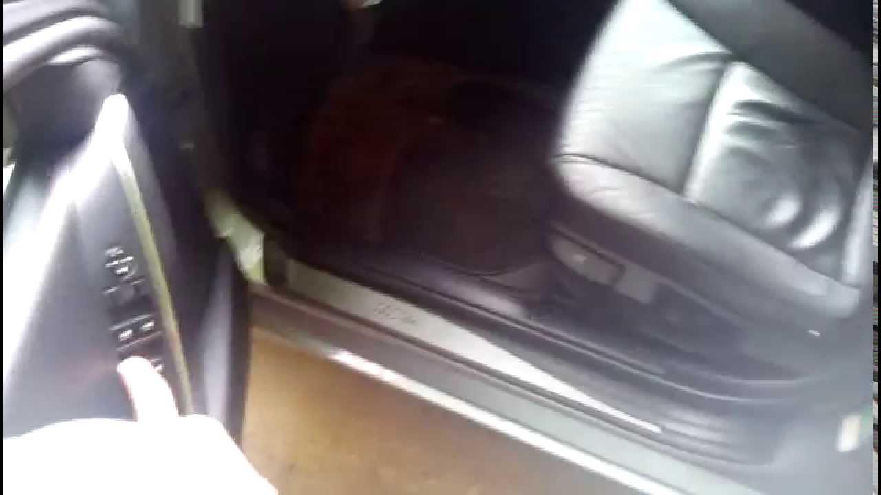 2004 bmw 530i power window anti-trap function