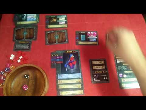 One Deck Dungeon Campaign: Leiana the Rogue - 05  