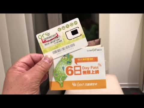 My experience of APTG prepaid card Asia Pacific Telecom purchased from Taiwan airport