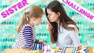 TODAY I'M CHALLENGING MY LITTLE SISTER, SOPHIE! 7 SECOND CHALLENGE,...