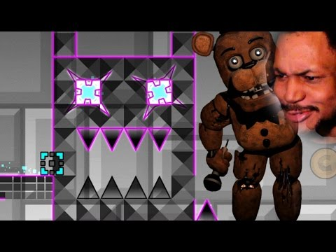 FNAF DUBSTEP G-DASH LEVEL!? YES PLS. | Geometry Dash (2.0) #12