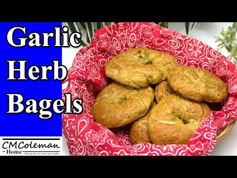 How To Make Garlic Herb Bagels An Easy Recipe In Your Bread Machine