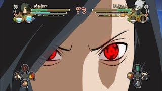 Naruto Ultimate Ninja Storm 3 Full Burst Alive Madara vs Kamui Kakashi (PC Gameplay)