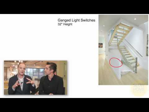 The Best Height For Your Light Switches Youtube