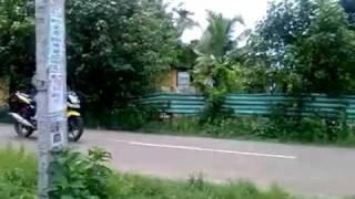 funny bike accident in malapuram