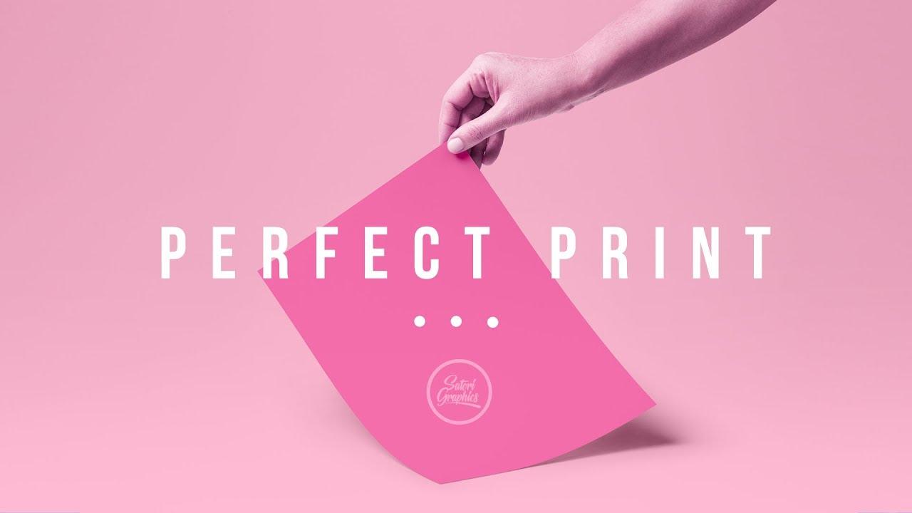 Graphic Design Tips: PERFECT PRINT Design