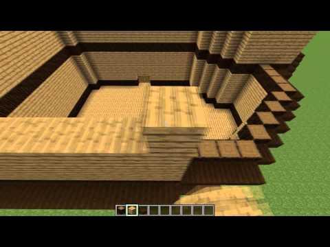 Tuto minecraft faire une jolie maison en bois doovi for Maison moderne 7x7