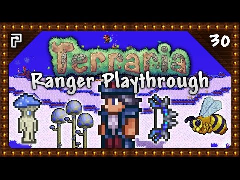 🌳 Terraria 1.3.5 Let's Play | Ranger Playthrough | Mushroom Island! Companion Cube! [Episode 30]
