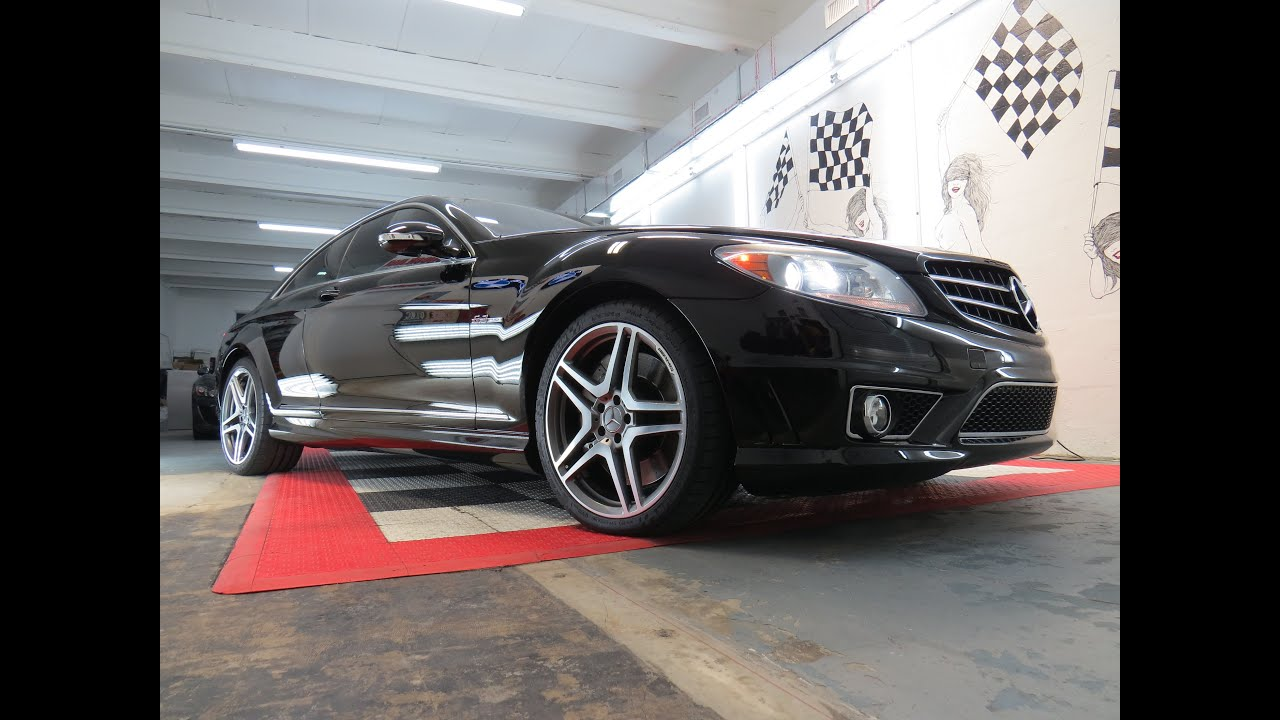 2009 mercedes benz cl63 amg ceramic pro by advanced detailing of south florida