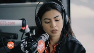 "Glaiza De Castro performs ""Sa'yo Pa Rin"" LIVE on Wish 107.5 Bus"