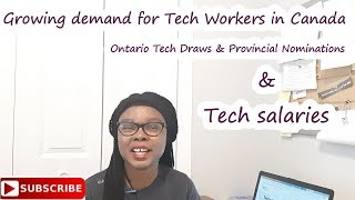 Tech workers in Canada- Tech Salaries