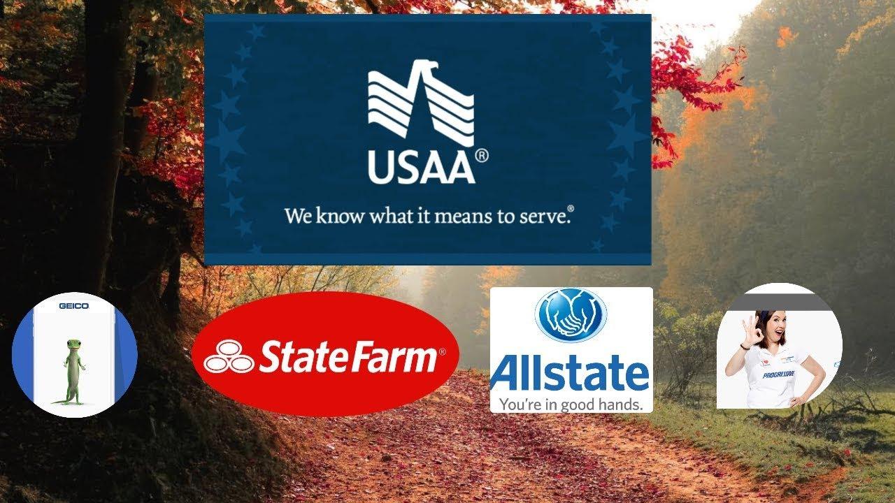 Top 5 USA Auto Insurance Companies of 2020 - YouTube
