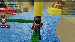 SpidermanProductions plays ROBLOX: Esacpe Treasure Island Obby (Revisited)