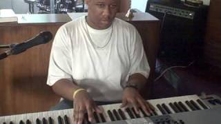 Praise Him in Advance by Marvin Sapp... Me playin around with it after rehearsal