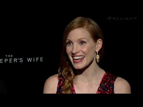 """Jessica Chastain and director Niki Caro on """"The Zookeeper's Wife"""" - ArcLight Stories"""