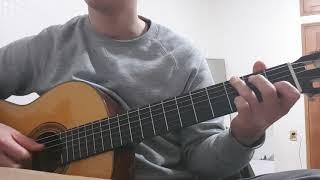 Home on the range [Finger style guitar]