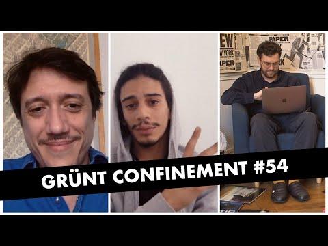 Youtube: Grünt Confinement #54 avec Yassine Stein et Jérôme Momcilovic