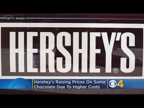 Scott Sloan - Hershey To Raise Prices Of Some Of Its Chocolate