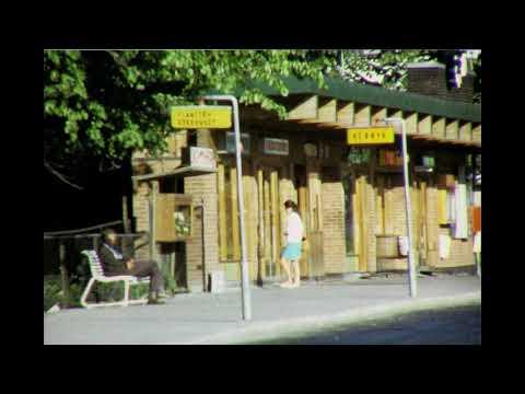 Torvhandel ved Porsgrunn rådhus ca.1970