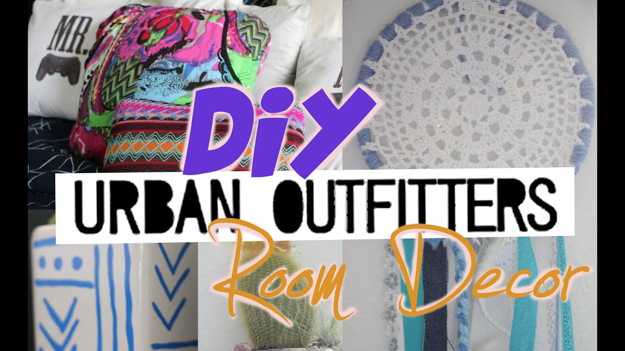 Diy urban outfitters room decor youtube for Room decor urban outfitters